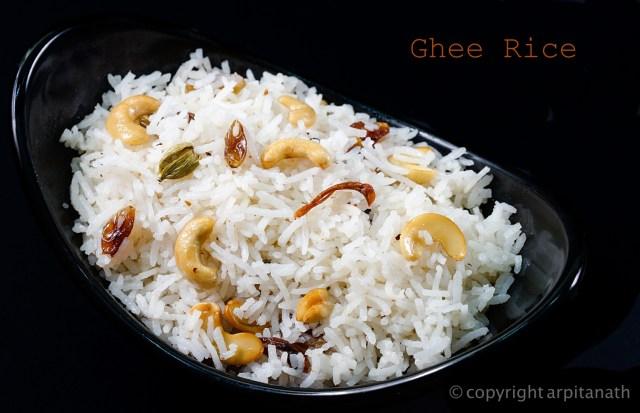 ghee rice 1