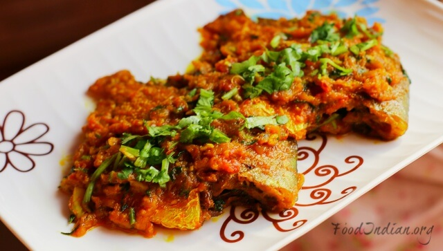pomfret fish red curry 16