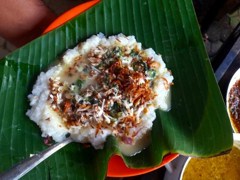 Bienen essen Bali