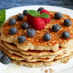 Fluffige Pancakes mit Insektenmehl_Foodinsects