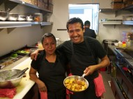 Happy Staff Cafe Gratitude