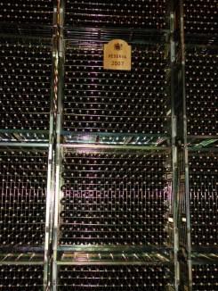 Racks of Rioja at Marques de Riscal