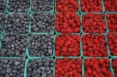 Fresh-picked berries