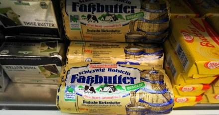 Sour cream Holstein butter in Dresden