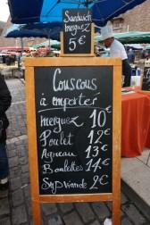 Merguez couscous - the real deal!