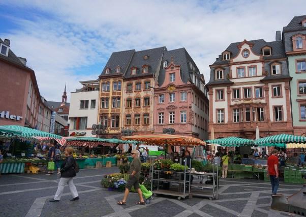 Saturday Market, Mainz