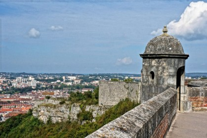 The view from the Citadel