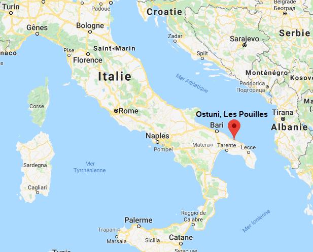 Ostuni - Les Pouilles (Italie)