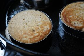 It is impossible to buy English Muffins down here. So I started testing recipes