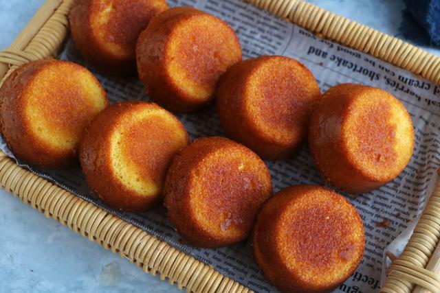 教你做无油无水的老式蛋糕,又香又脆
