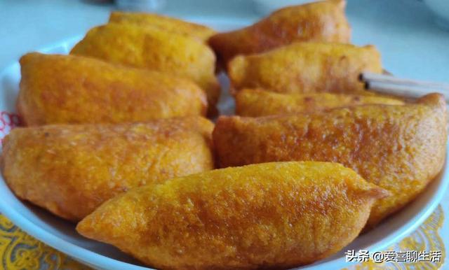 早餐做这样的黄金饺,外脆里糯果香浓郁营养丰富