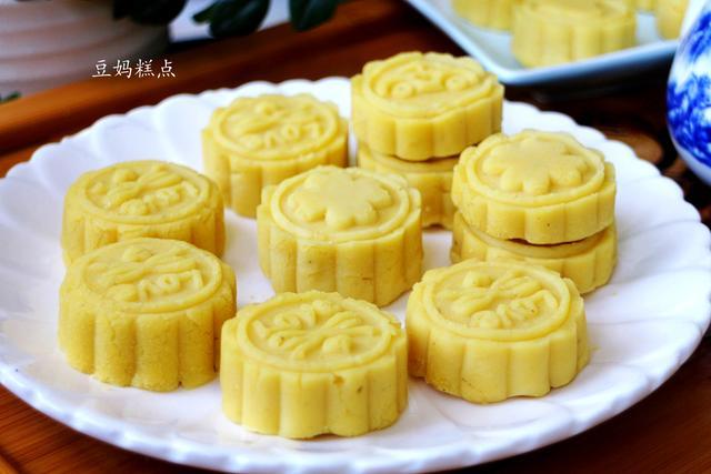 自制绿豆糕只需3种食材,细腻又美味