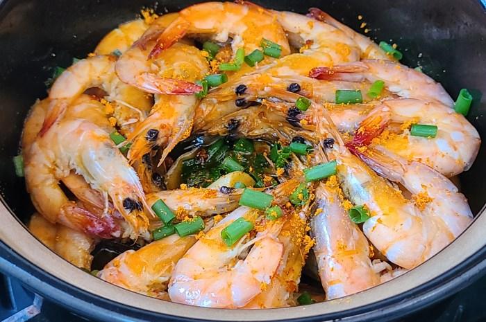 焗大蝦,又香又好吃的一道廣東美食