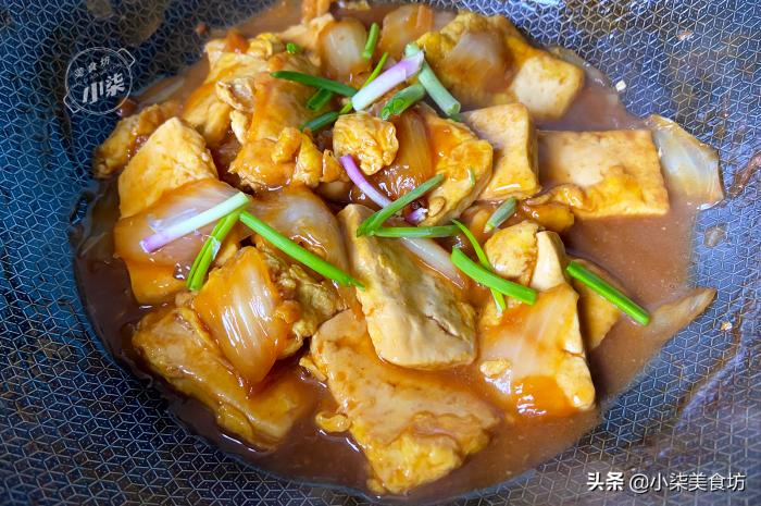豆腐裡打2個雞蛋,不炸也不炒比吃肉還香