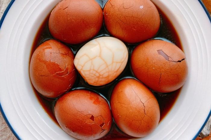 春節待客必備的五香茶葉蛋,30年老配方分享給你