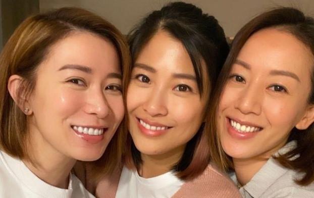 佘詩曼湯盈盈等TVB七魔女齊聚,為梁靖琪慶生還有老公恩愛相陪