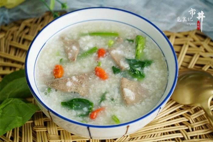春天要常喝粥大米加豬肝這樣煮,溫和有營養熬一鍋特香