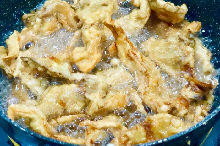 做乾炸蘑菇學會正確做法,口感香酥脆