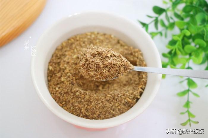 自製椒鹽粉有這4種食材就夠了,香噴噴無添加