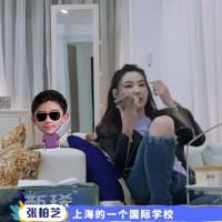 張柏芝去上海學校面試緊張,兒子出鏡長胖lucas高冷