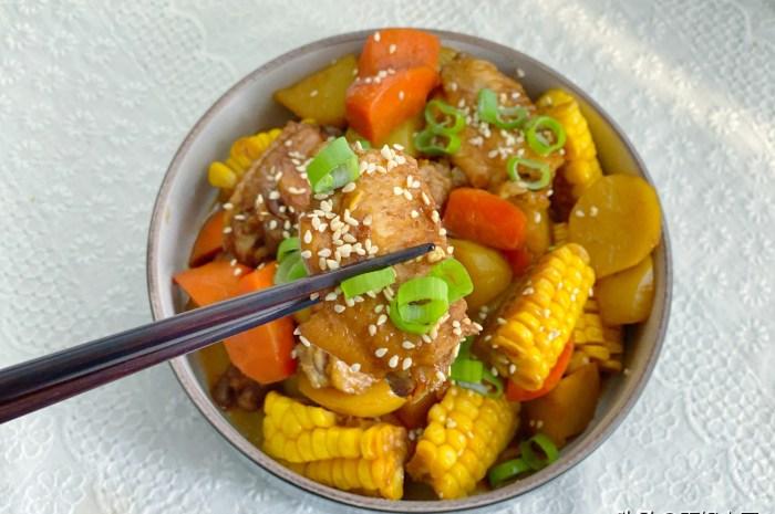 雞翅和土豆一起煲,越吃越香富含滿滿膠原蛋白