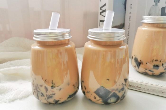 奶茶店爆款黑钻烤奶,在家就能完美复刻,食材简单