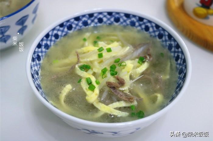 多喝这碗汤,3种食材搭配,营养补水太鲜了