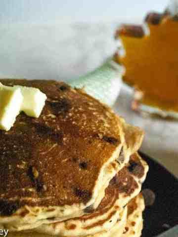 Whole wheat Sourdough pancake recipe