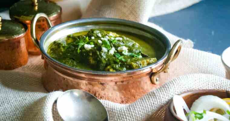 How to make Palak Paneer   Easy paneer recipe with spinach