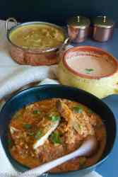 Pomfret fish curry