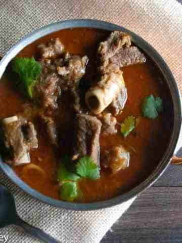 Goat curry recipe