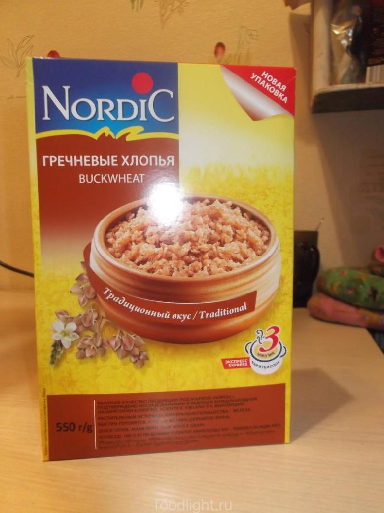 Nordic. Гречневые хлопья