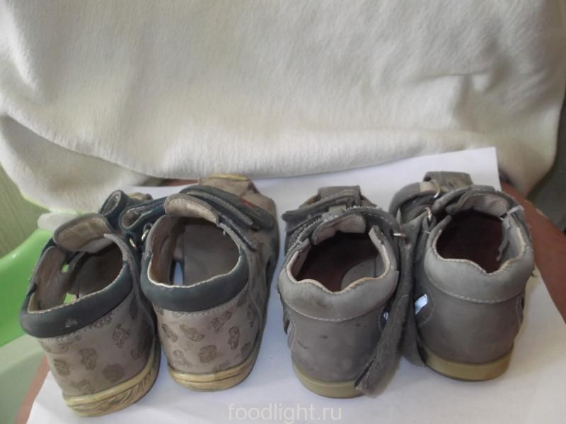 Котофей, сандалии для мальчика. После двухлетней носки