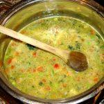 Овощной сливочный суп