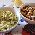 Рецепты летних салатов.