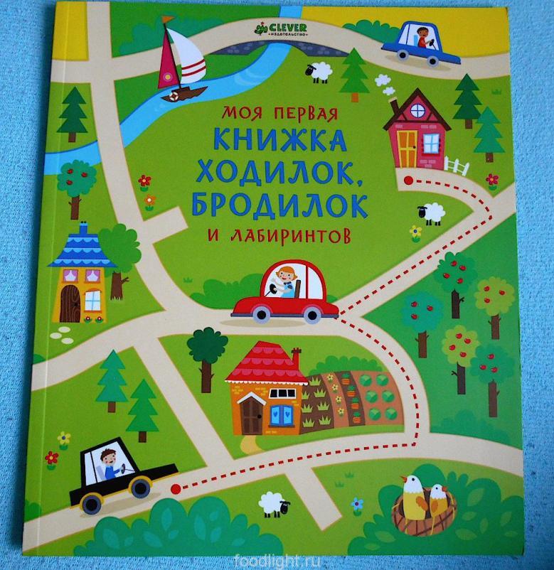 Моя первая книга ходилок, бродилок и лабиринтов