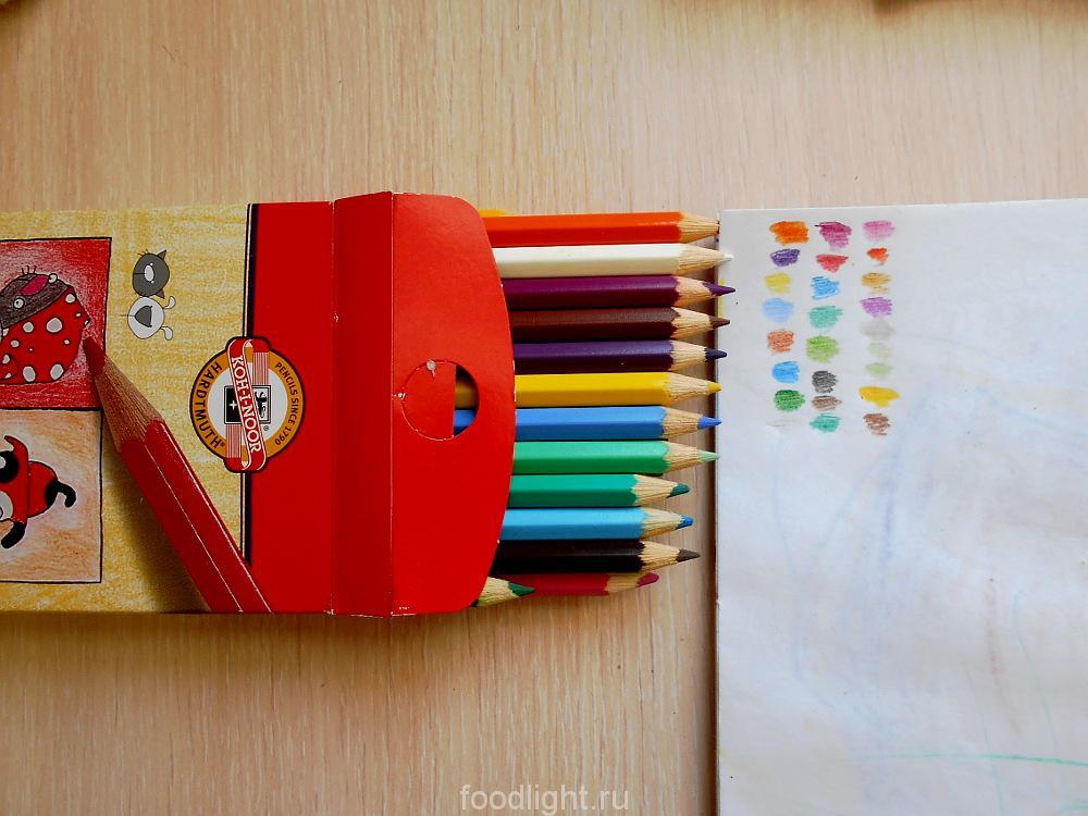 KOH-I-NOOR цветные карандаши 24