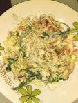 салат с капустой, рукколой и йогуртом