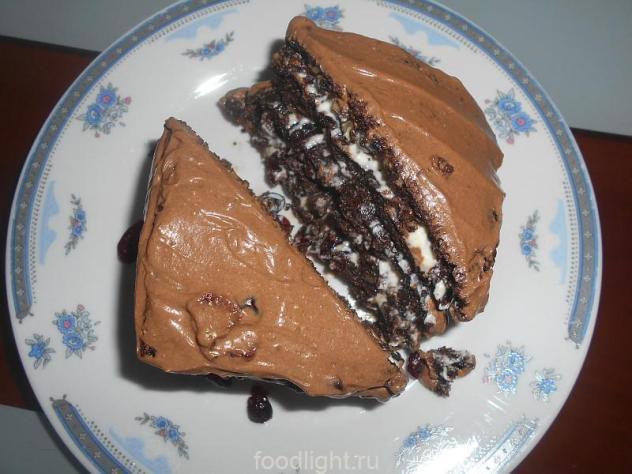 пирожное с какао