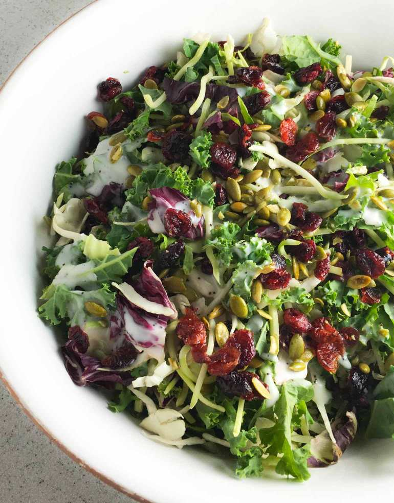 Superfood Salad from Costco gets a fresh flavor boost with a few added ingredients.