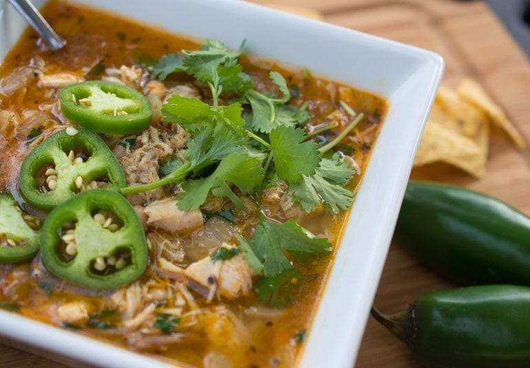 30-Minute Chicken Chili