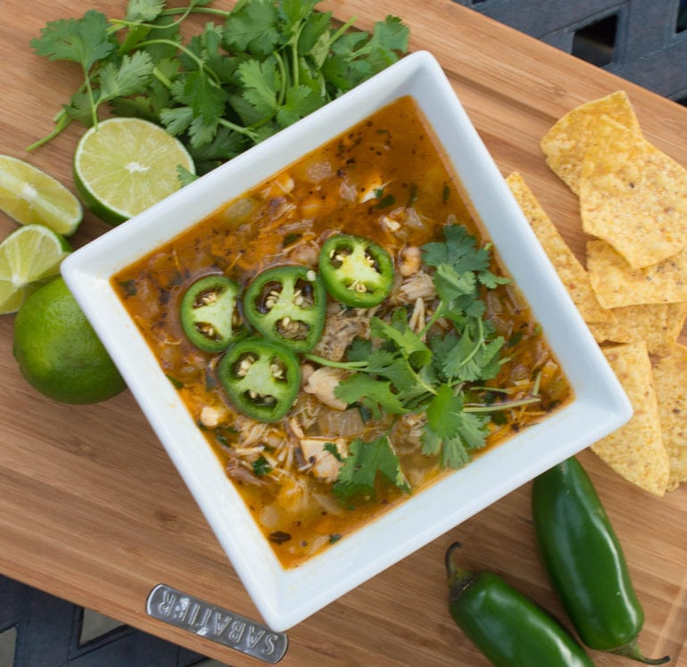 30-Minute Chicken Chili is a warm, spicy and satisfying family favorite.