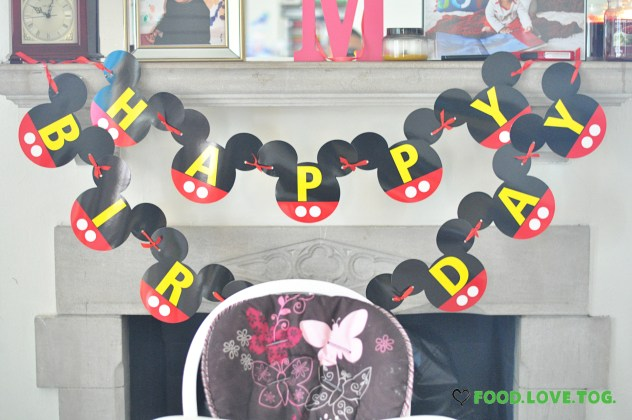 Mickey's Clubhouse Party |Foodlovetog.com