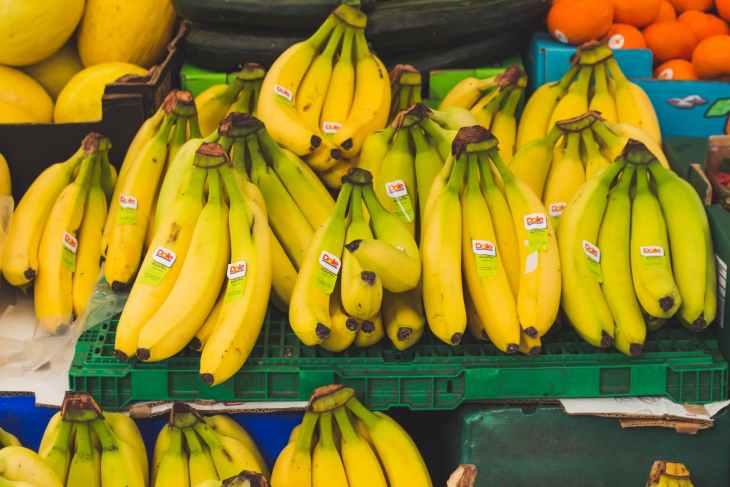 bananas delicious food fresh