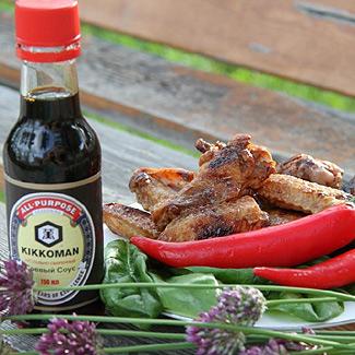 Сладкие куриные крылья-гриль | Вкусные рецепты с фото ...