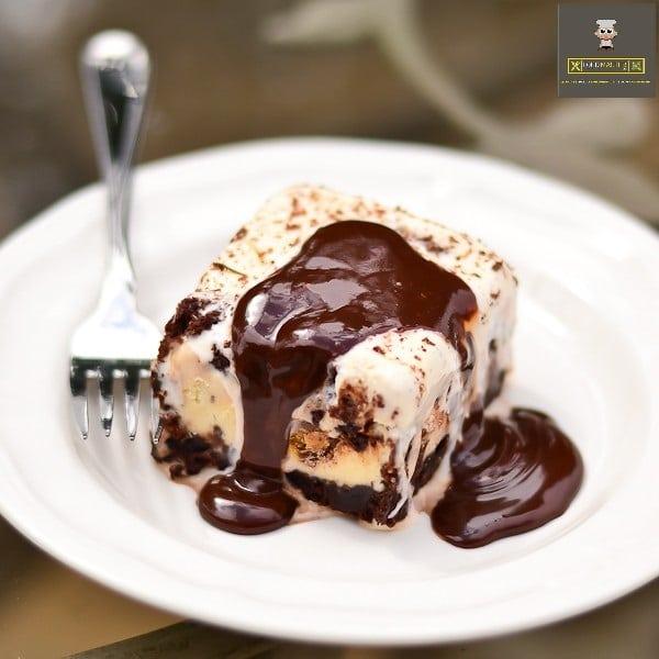 Vanilla Brownie