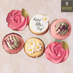 mothers day customized cupcakes