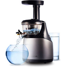 Cold press juicers are easy to clean