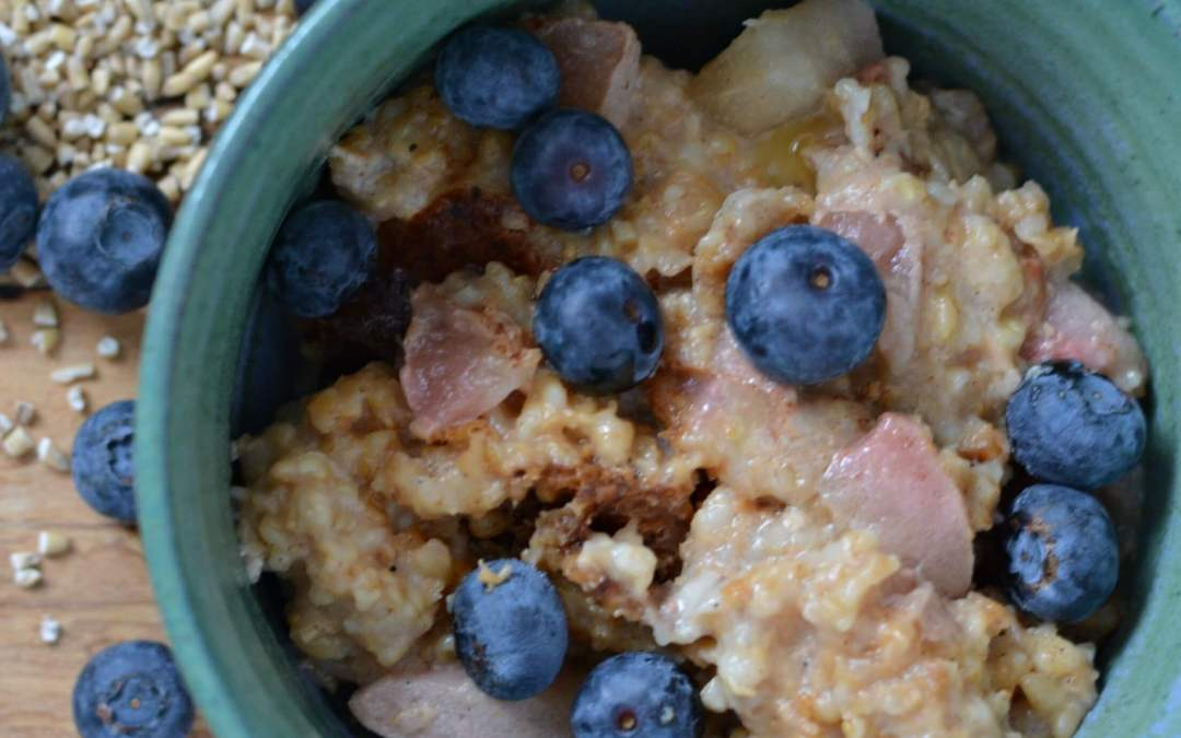 Crock Pot Oatmeal for Two
