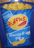 Ruffles bag of chips cake